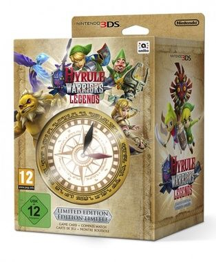 3DS Hyrule Warriors: Legends Limited Edition / Adventura / Angličtina / od 12 let / Hra pro Nintendo 3DS