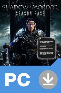 PC Middle-earth Shadow of Mordor - Season Pass / Akční / Angličtina / od 18 let