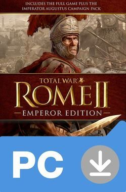 PC Total War: Rome II - Emperor Edition / Elektronická licence / Strategie / Angličtina / od 16 let