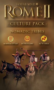 PC Total War: Rome II - Nomadic Tribes Culture Pack (DLC) / Elektronická licence / Strategie / Angličtina / od 16 let