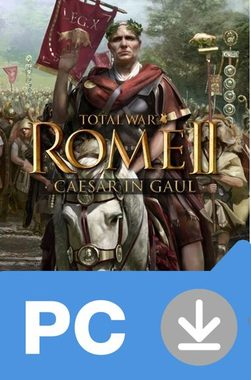 PC Total War: Rome II - Caesar in Gaul (DLC) / Elektronická licence / Strategie / Angličtina / od 16 let