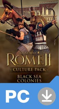 PC Total War: Rome II - Black Sea Colonies (DLC) / Elektronická licence / Strategie / Angličtina / od 16 let