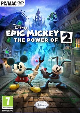 PC Disney Epic Mickey 2: The Power of Two / Elektronická licence / Dětské / Angličtina / od 7 let