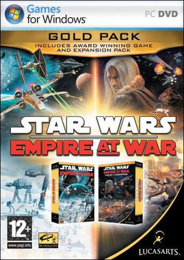 PC Star Wars Empire at War: Gold Pack / Elektronická licence / Strategie / Angličtina / od 12 let