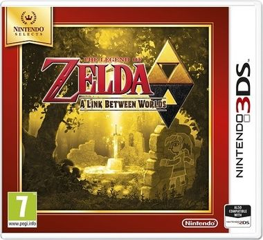 3DS The Legend of Zelda: A Link Between Worlds Select / Adventura/ Angličtina / od 7 let / Hra pro Nintendo 3DS