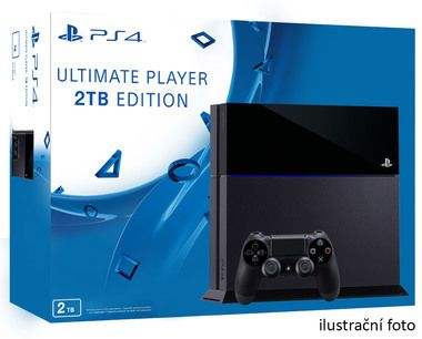 SONY PlayStation 4 - 2TB Black CUH-1216 / černý