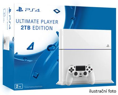 SONY PlayStation 4 - 2TB White CUH-1216 / bílý