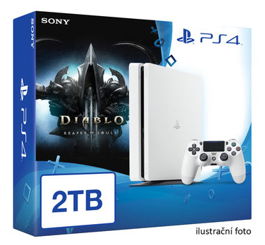 SONY PlayStation 4 - 2TB White CUH-2016 + Diablo III: Ultimate Evil Edition