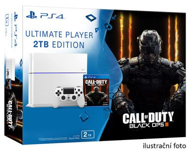 SONY PlayStation 4 - 2TB White CUH-1216A + Call of Duty: Black Ops 3