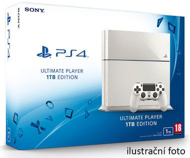 SONY PlayStation 4 - 1TB White CUH-1216 / bílý