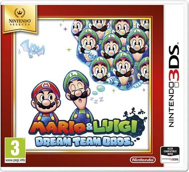 3DS Mario & Luigi: Dream Team Bros. Select / RPG / Angličtina / od 3 let / Hra pro Nintendo 3DS