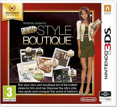 3DS New Style Boutique Select / Simulátor / Angličtina / od 3 let / Hra pro Nintendo 3DS