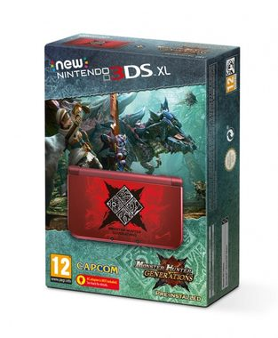 New Nintendo 3DS XL Monster Hunter Generations Edition / bundle