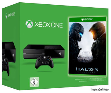 Microsoft XBOX ONE 500GB + HALO 5