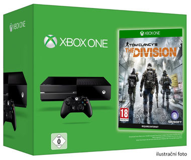 Microsoft XBOX ONE 500GB + Tom Clancys: The Division