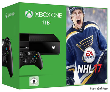 Microsoft XBOX ONE 1TB + NHL 17