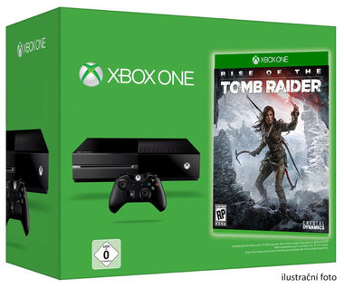 Microsoft XBOX ONE 500GB + Rise of the Tomb Raider