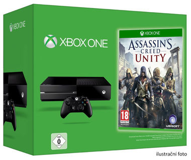 Microsoft XBOX ONE 500GB + Assassins Creed Unity