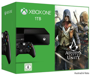 Microsoft XBOX ONE 1TB + Assassins Creed Unity