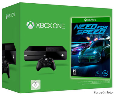 Microsoft XBOX ONE 500GB + Need for Speed 2016