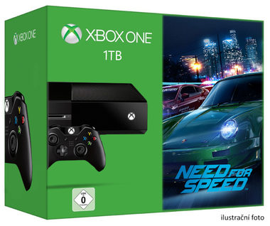 Microsoft XBOX ONE 1TB + Need for Speed 2016