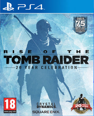 PS4 The Rise of The Tomb Raider 20 Years Celebration  / Akční / Angličtina / od 18 let / Hra pro PlayStation 4