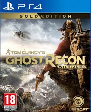 PS4 Tom Clancy's Ghost Recon: Wildlands Gold Edition / Akční / CZ titulky / od 18 let / Hra na Playstation 4
