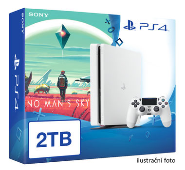 SONY PlayStation 4 - 2TB White CUH-2016 + No Man's Sky