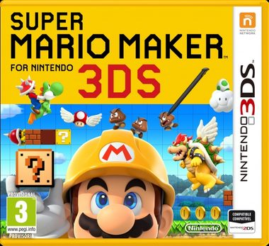 3DS Super Mario Maker for Nintendo 3DS / Angličtina / Hra na Nintendo 3DS