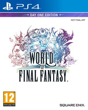 PS4 World of Final Fantasy / RPG / Angličtina / od 12 let /  Hra pro Playstation 4