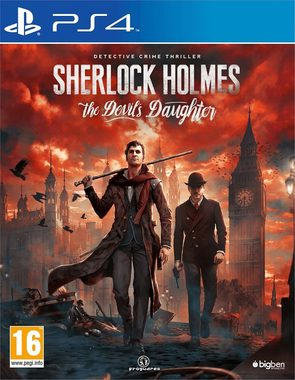 PS4 Sherlock Holmes: The Devil's Daughter / Adventura / Angličtina / od 16 let / Hra pro Playstation 4