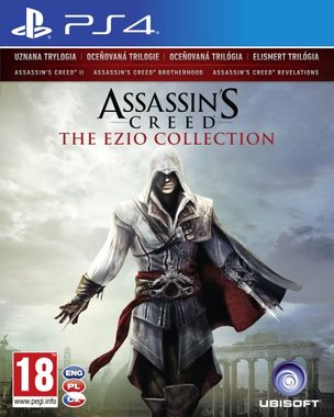 PS4 Assassins Creed The Ezio Collection / Akční / Angličtina / od 16 let / Hra pro Playstation 4
