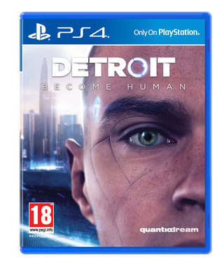 PS4 DETROIT Become Human / Adventura / CZ titulky / od 18 let / Hra na Playstation 4