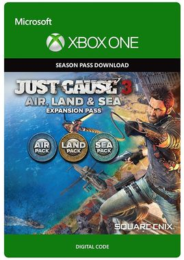 XONE Just Cause 3: Land & Sea & Air Expansion / Elektronická licence / Season Pass