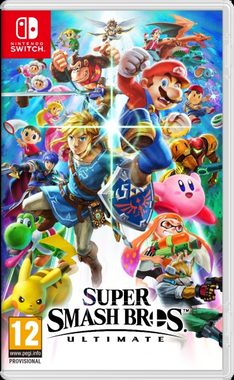 Switch Super Smash Bros. Ultimate / Bojovka / Angličtina / od 12 let / Hra pro Nintendo Switch