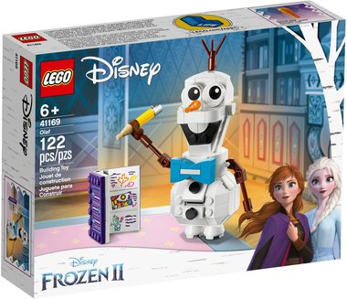 LEGO Disney Princess 41169 Olaf / 122 kostek / 6+ let