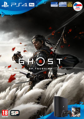 PS4 Ghost of Tsushima - Plakát