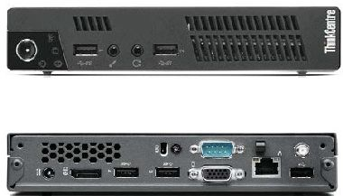 LENOVO ThinkCentre M73e Tiny / Intel Pentium G3240T 2.7GHz / 4GB / 500GB / Intel HD / Wi-Fi / W7P+W8.1P