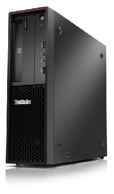 Lenovo ThinkStation P300 SFF / Intel Xeon E3-1226v3 3.3GHz / 4GB / 1TB / DVD-RW / Intel HD 4600 / W7P+W8.1P