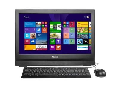 MSI AP200-231XEU / 20 HD+ / Intel Core i3 @3.4GHz / 4GB RAM / Intel HD 4400 / 500GB / DVD±RW / Wi-Fi / Bez OS