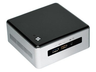 Intel NUC 5I3RYK / Core i3-5010U 2.1GHz / Intel HD Graphics 5500 / Wi-Fi / Bez OS