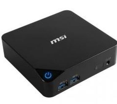 MSI PC Cubi-010BEU / Intel Core i3-5005U 2.0GHz / Intel HD / GbLan / Wifi / BT / HDMI / USB3.0 / bez OS