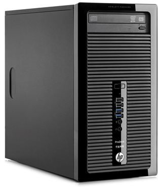 HP ProDesk 400 G2 MT / Intel Core i5-4590S 3.0GHz / 4GB / 500GB / Intel HD / DVD±RW / W7+10P / černá
