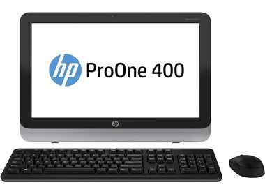 "HP ProOne 400 G1 / 19.5"" HD+ / Intel Core i3-4160T 3.1GHz / 4GB / 500GB / DVD-RW / Intel HD / W7P+W10P"