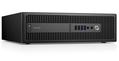 HP ProDesk 600G2 SFF / Intel Core i3-6100 3.7GHz / 4GB / 500GB / DVD / Intel HD / W7P+W10P