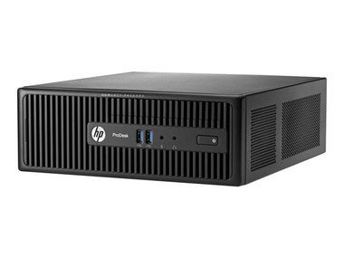 HP ProDesk 400 G2.5 SFF / Intel Core i5-4590S 3.0GHz / 4GB / 500GB / Intel HD / DVD±RW / W7P+10P / černá