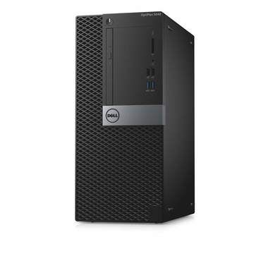 DELL OptiPlex 5040 MT / Intel i7-6700 3.4GHz / 8GB / 500GB / DVD-RW / Intel HD / W7P / 3YNBD