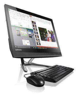 "LENOVO AIO 300-23ISU / 23"" FHD / Intel Pentium 4405U 2.1GHz / 4GB / 1TB / Intel HD / DVD-RW / Win10"
