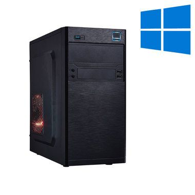 Mironet BUSINESS 1 + Win 10 / Intel Pentium G4400 3.3GHz / 8GB DDR4 RAM / HD Graphics 510 / 120GB SSD / DVDRW
