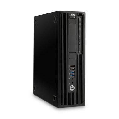 Počítač HP Z240 SFF / Intel Core i7-6700 3.4GHz / 16GB / 256GB SSD / Intel HD / DVDRW / W7P+10P